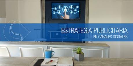 Estrategia Publicitaria Digital - Santa Fe entradas