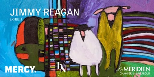 THE Gallery at Le Meridien Chambers Presents: Jimmy Reagan Exhibit