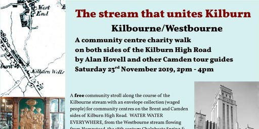 Stroll along the course of the Kilbourne  river