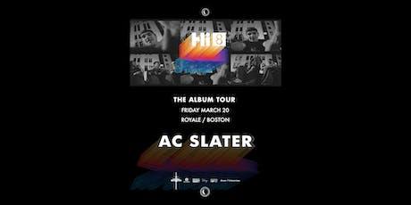 AC Slater tickets