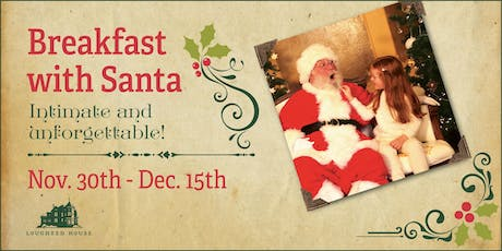 Breakfast with Santa at Lougheed House tickets