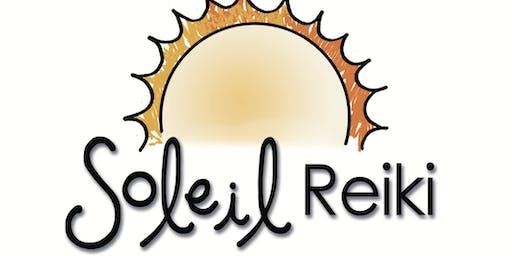 Soleil Level 3 Reiki Training