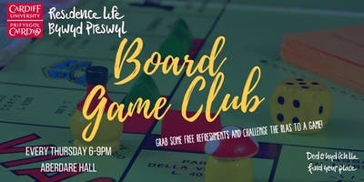 North Campus Board Game Club | Clwb Gemau Bwrdd Campws y Gogledd