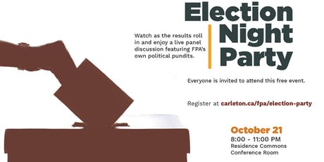 FPA Election Night Party tickets