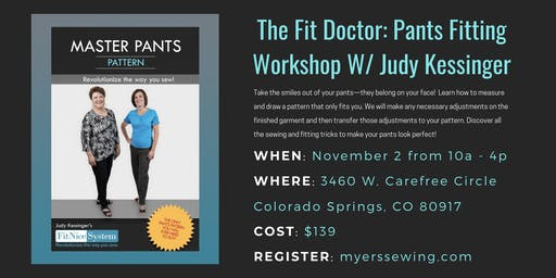 Pants Fitting Workshop w/ Judy Kessinger