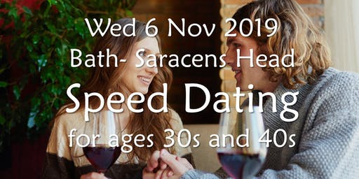 Speed Dating- Bath (Ages 30s and 40s)- BABS (Bath & Bristol Singles)