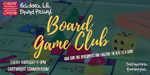 Cartwright Court Board Game Club | Clwb Gemau Bwrdd Cwrt Cartwright