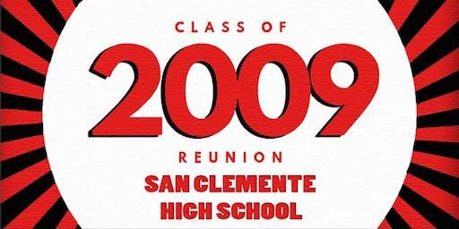 10 Year Reunion: San Clemente High School Class of 2009