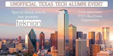 Unofficial Texas Tech Alumni in CRE/AEC Happy Hour tickets