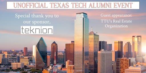 Unofficial Texas Tech Alumni in CRE/AEC Happy Hour
