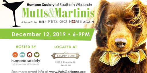 Mutts & Martinis 2019