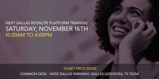 Dallas Royaltie Platform Training