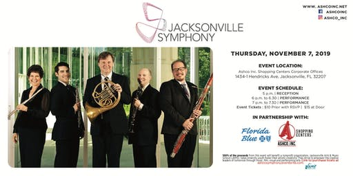 The Jacksonville Symphony presented by Ashco Shopping Centers in partnership with Florida Blue