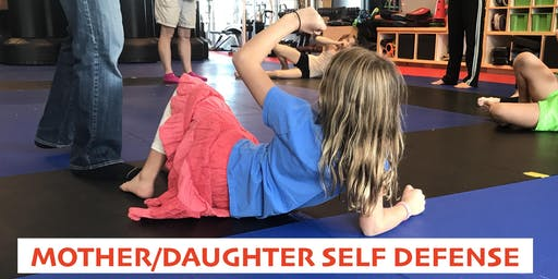 October Mother/Daughter Self Defense at Athleta