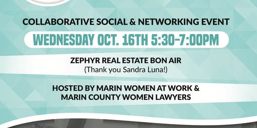 Collaborative Social with MWAW and Marin County Women Lawyers
