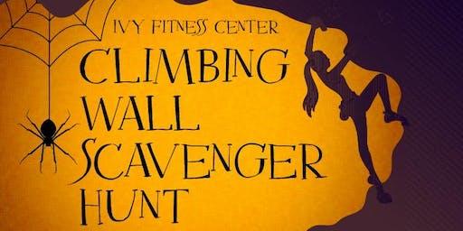 Ivy Fitness Center Climbing Wall Scavenger Hunt