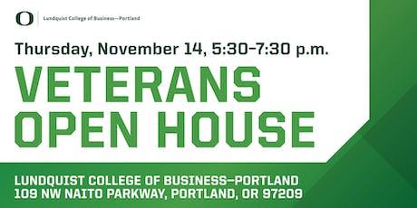 Veterans Open House tickets