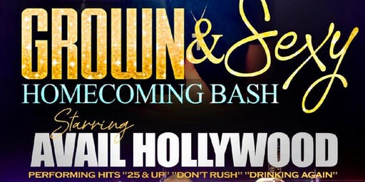Fort Valley Homecoming Grown & Sexy Concert ft. AVAIL HOLLYWOOD