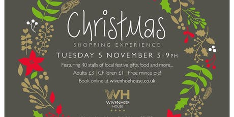 Christmas Shopping Experience tickets