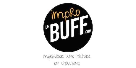 ImproBuff #04 - Improviser une histoire en chansons tickets