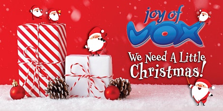 Joy of Vox (JOV) Christmas 2019 tickets