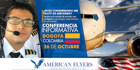 Conferencia Informativa de American Flyers en BOGOTÁ, COLOMBIA billets
