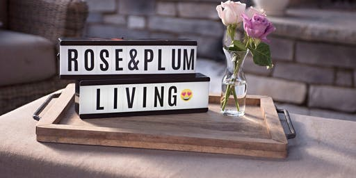 Rose & Plum Living's 2nd Annual Open House