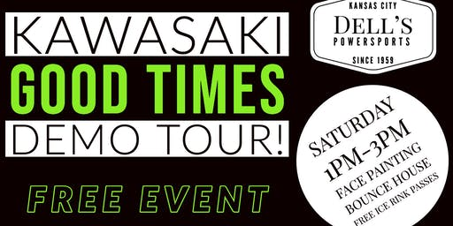 Dell's Powersports Kawasaki Demo Tour At Silverstein Eye Center Arena!