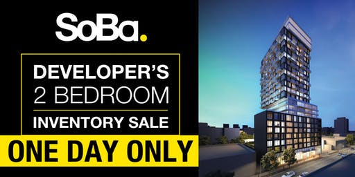 SoBa Developer's 2 Bedroom Inventory Sale!