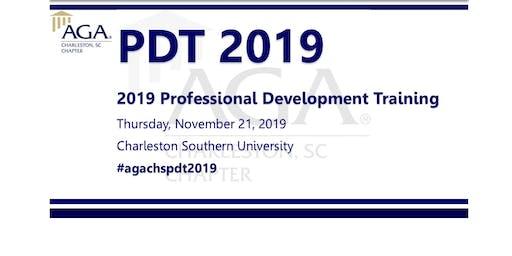 AGA Charleston Professional Development Training (PDT) 2019