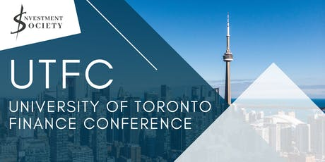University of Toronto Finance Conference 2019-2020 tickets