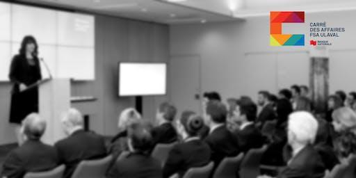 Conférences–Analyse et architectures organisationnelles - Automne 2019