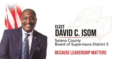 David C. Isom for Supervisor Campaign Kick-Off tickets