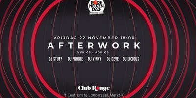 Club Rouge - Afterwork - Rode Neuzen Dag