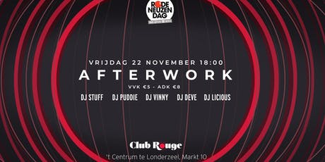 Club Rouge - Afterwork - Rode Neuzen Dag tickets