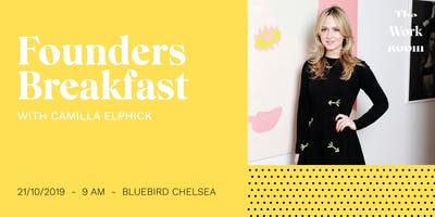 Founders Breakfast with Camilla Elphick