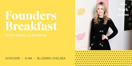 Founders Breakfast with Camilla Elphick tickets