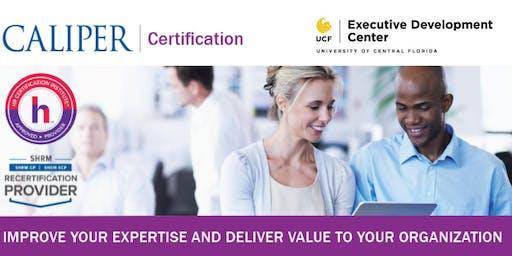 UCF EDC Caliper Certification