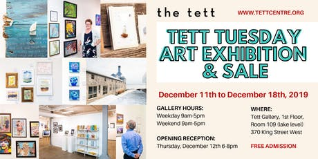 Tett Tuesday Art Exhibition & Sale  tickets