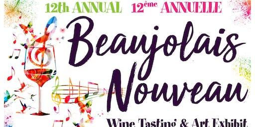 Beaujolais Nouveau Wine & Art Benefit