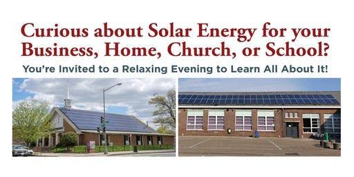 Solar Energy Workshop - LaGrange County