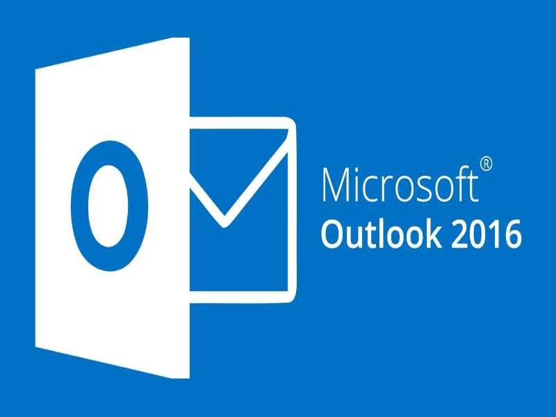 Microsoft Outlook 2016 Introduction Workshop