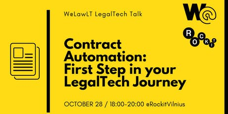 Contract Automation: First Step in your LegalTech Journey tickets