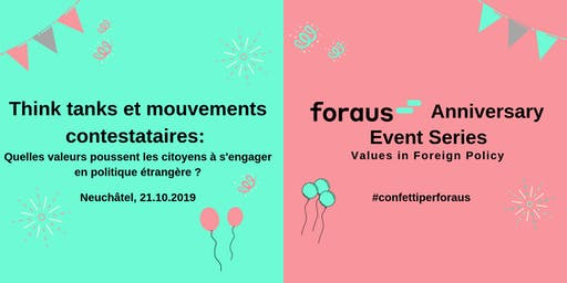 Afterwork/Workshop: Think tanks et mouvements contestataires