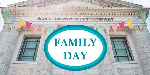 Family Day at Port Tampa City Library