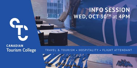 Canadian Tourism College Open House tickets