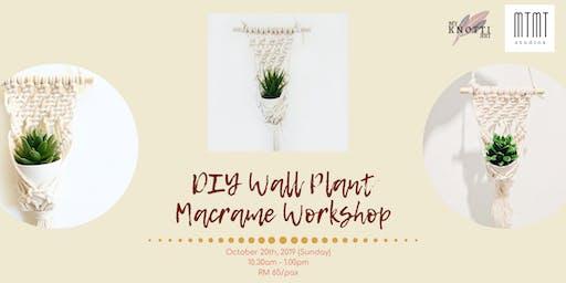 DIY Wall Plant Macrame Workshop