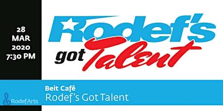 Beit Café: Rodef's Got Talent  tickets