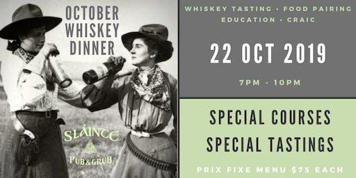 Glendalough Whiskey Dinner