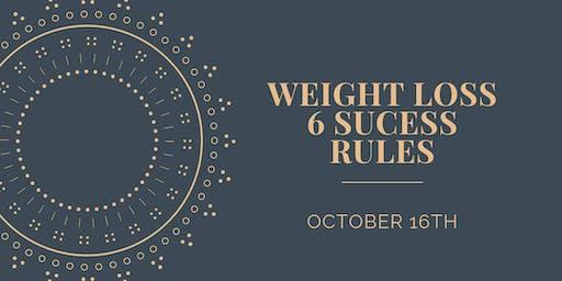 6 Weight Loss Secrets
